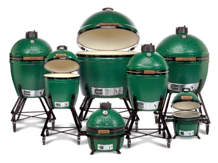 The Green Egg: 7 Size Varieties