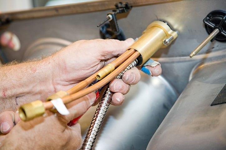 GSM Plumbing Installation
